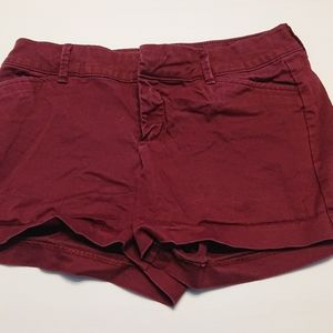 Old Navy Pixie Red Shorts